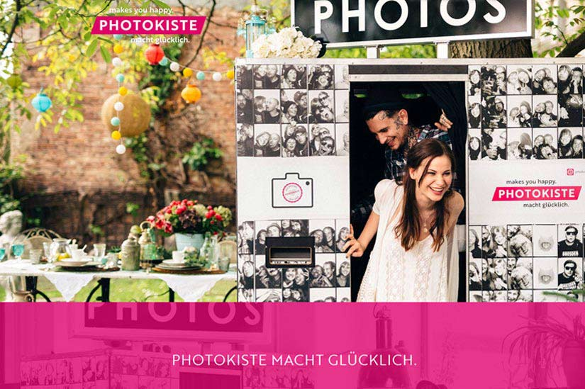 Photokiste - Wordpress,Onepager,Formulare,Animationen