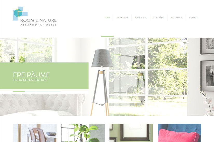 ROOM & NATURE - Wordpress,Slider,Plugin,JQuery